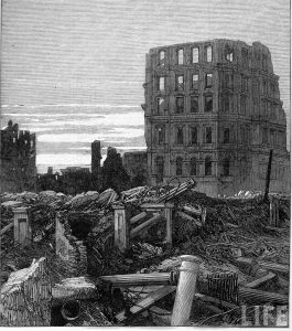 Great Chicago Fire aftermath