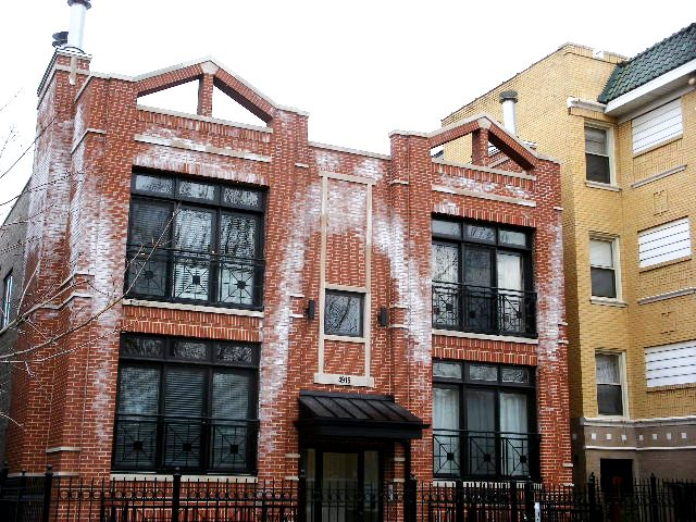 Excessive efflorescence and water intrusion