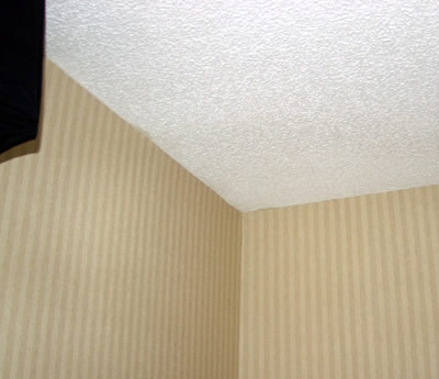 Interior Wall Corner No Visible Problems