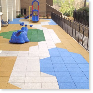 Eco-Rubber Safety Surface